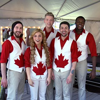 Pentatonix in Pitch Perfect 2 Video