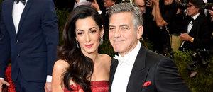 George and Amal Clooney Make a Stunning Met Gala Debut