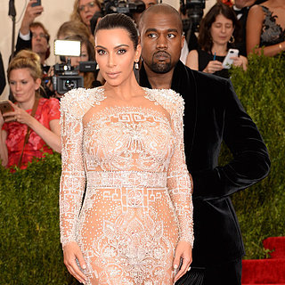 Kim Kardashian and Kanye West at the Met Gala 2015 | Photos