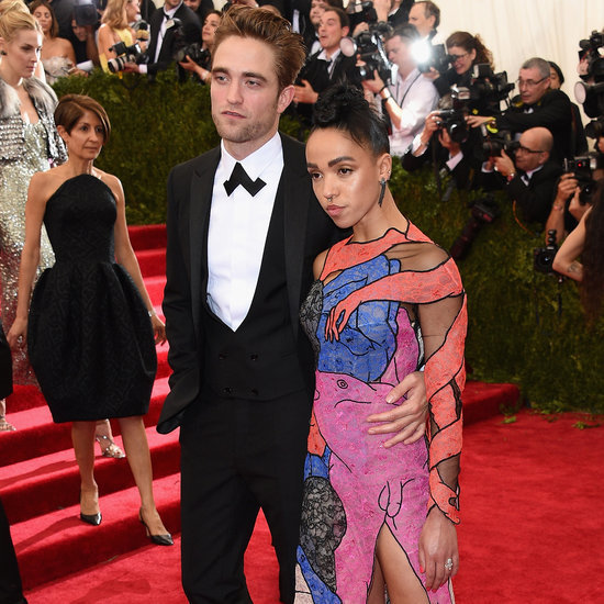 Rob and FKA Make Their First-Ever Red Carpet Appearance Together