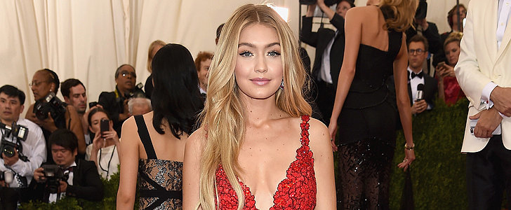 Gigi Hadid Looked Red Hot For Her First Met Gala