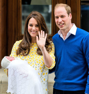 Royal Baby Name Revealed: Kate Middleton, Prince William Name Daughter Charlotte Elizabeth Diana