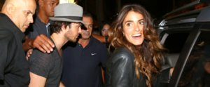 Ian Somerhalder and Nikki Reed Have a Vampire Diaries Double Date in Brazil