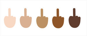 The Middle Finger Emoji Is Finally Here