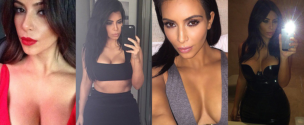 Kim Kardashian's 26 Raciest Instagram Snaps