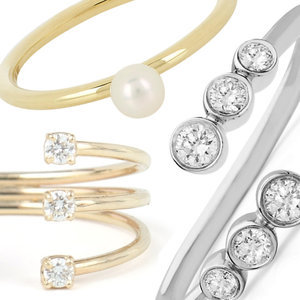 Unexpected Engagement Rings Under $1000