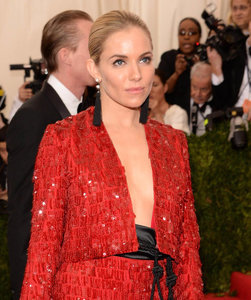 Sienna Miller at the 2015 MET Gala