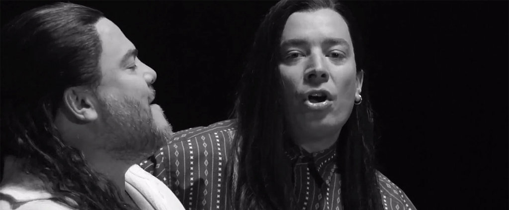 """Stop Everything: Jack Black and Jimmy Fallon Re-Created the """"More Than Words"""" Music Video"""