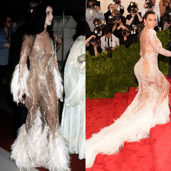Is This Really Where Kim Kardashian Got Her Met Gala Inspiration From?