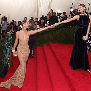 Models at the 2015 Met Gala