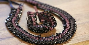 Make Your Own Pretty Ribbon and Chain Jewellery