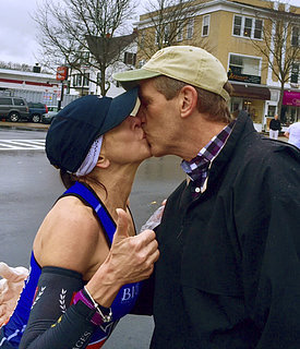 Boston Marathon Kiss