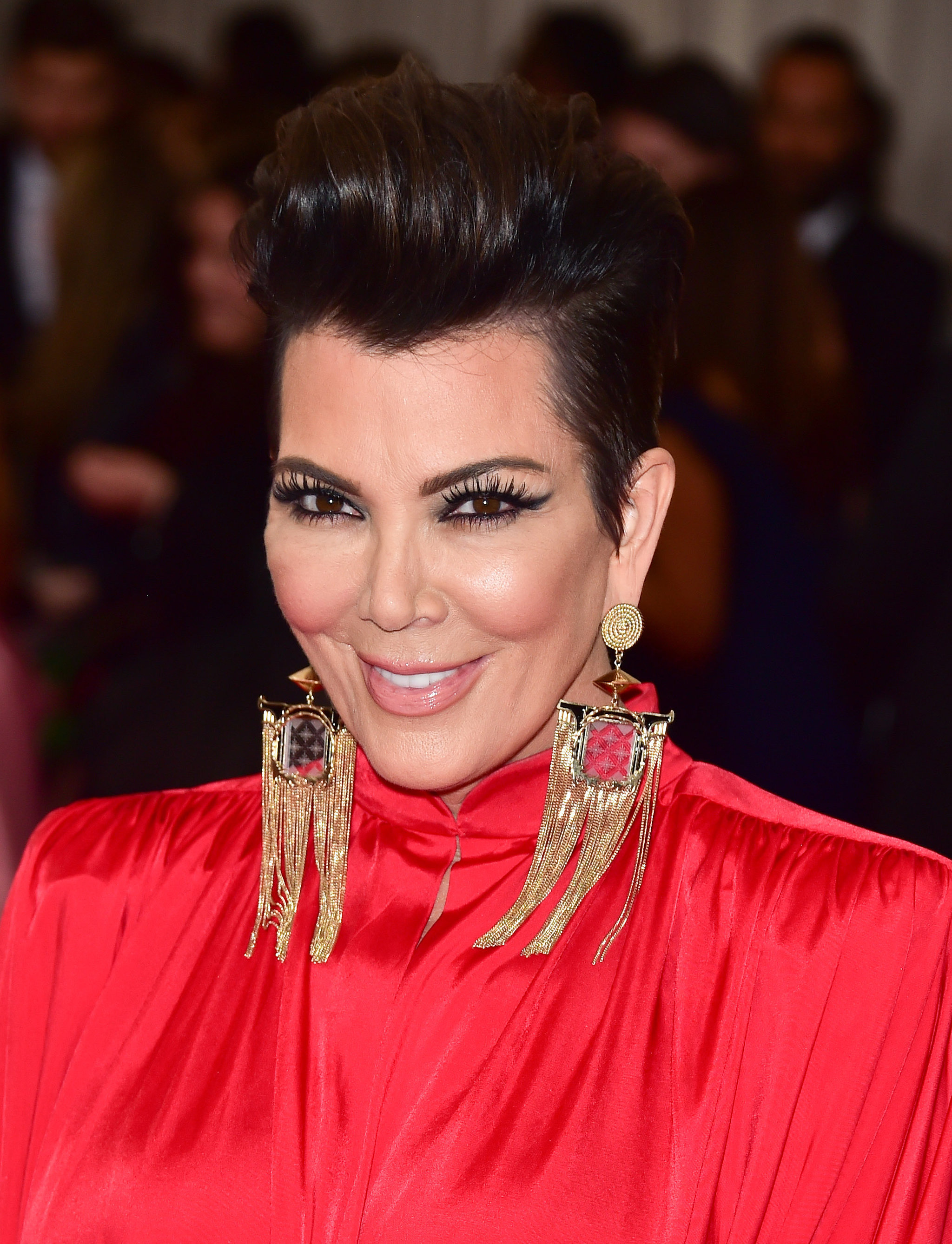 Kris Jenner Met Gala Brought Out All Plus