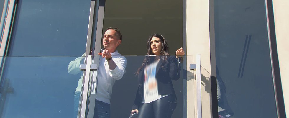 Kourtney Kardashian Takes a Stab at Designing Scott's New Fixer-Upper