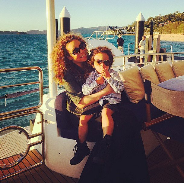 Mariah Carey and Moroccan