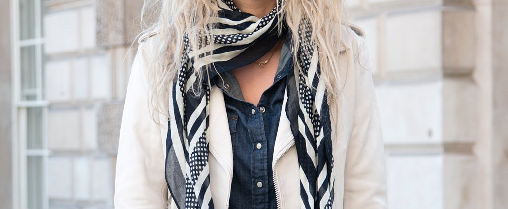 How to Transition Your Scarves Into Spring