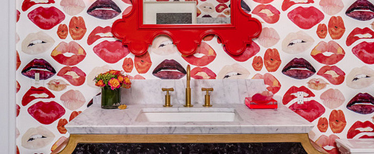 See How This Bathroom Got a Lip-Smacking Update
