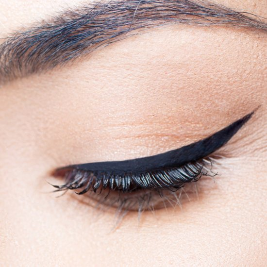 Create a Cat Eye Using Scotch Tape