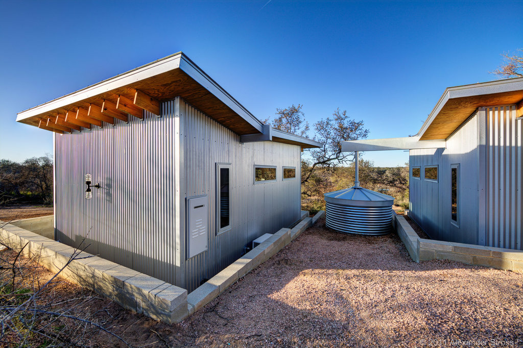Best Mates Build Tiny Row Of Houses In New Take On Small Living Trend Stuff Co Nz