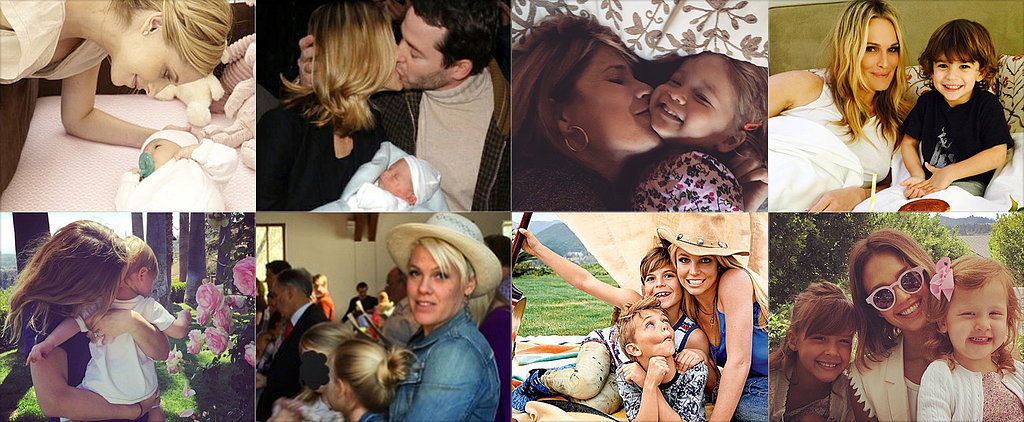 Celebrity Parents Shared the Sweetest Photos For Mother's Day