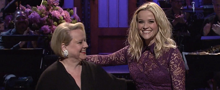 Reese Witherspoon Gets a Mother's Day Surprise on SNL