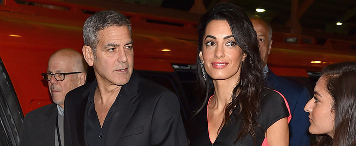 Amal Clooney Beats Everyone in Colorblocking, Because of Course