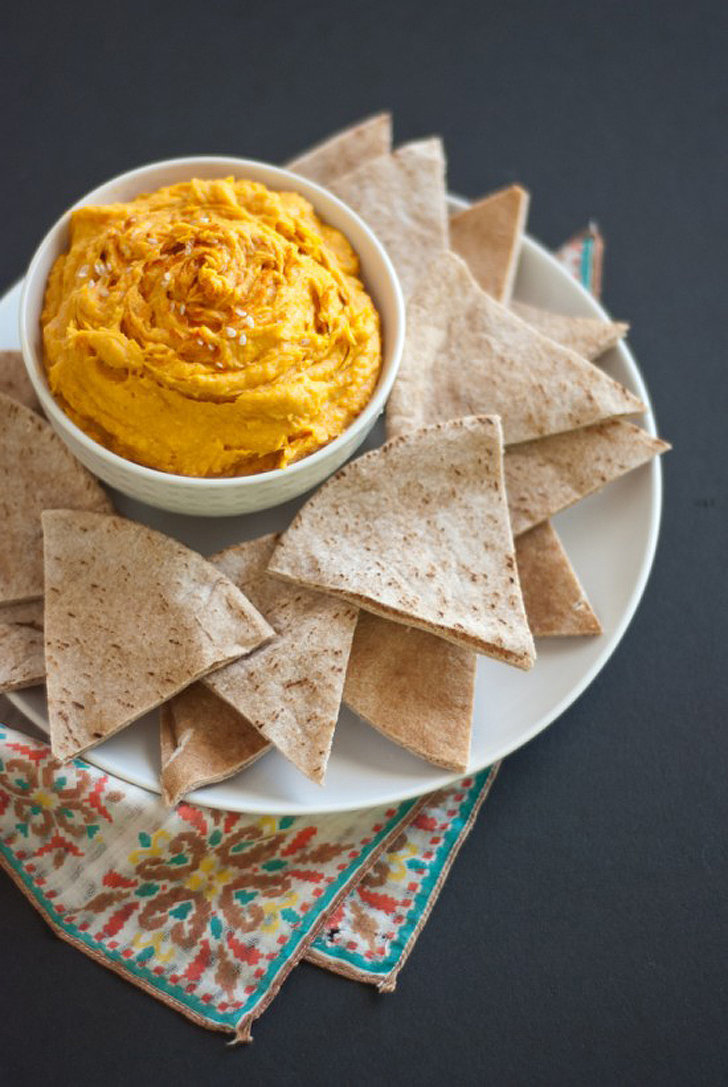 Spicy Sweet Potato Hummus