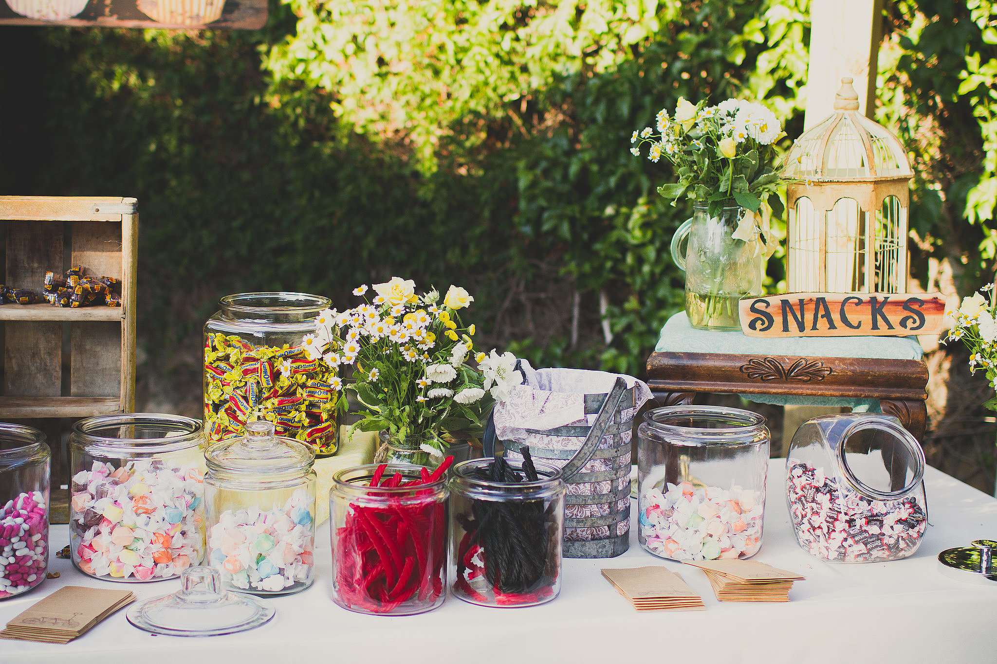 Create a DIY Candy Buffet