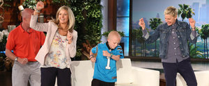 Ellen Gives This Dancing Boy With Brain Cancer the Surprise(s) of His Life!
