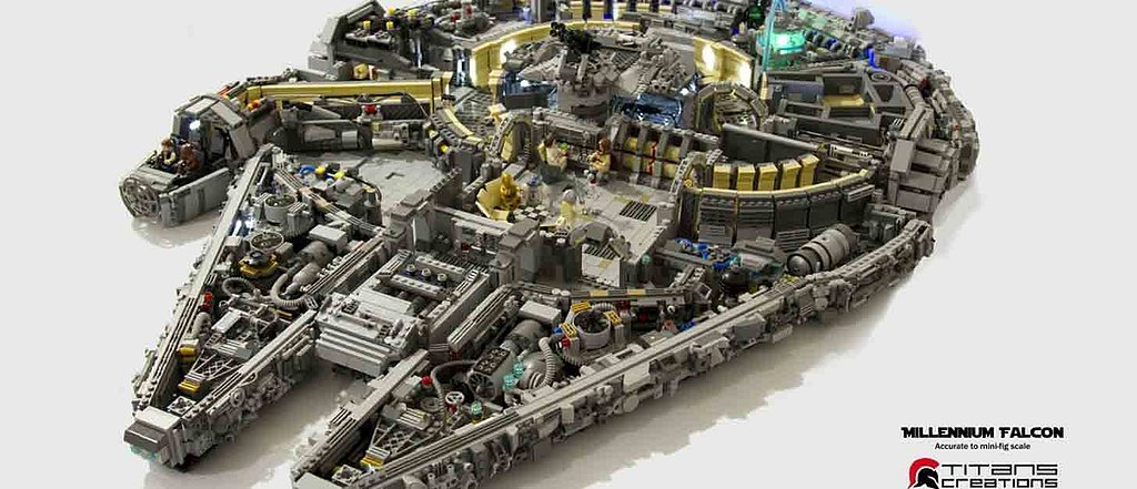 You Need to See This Amazing Lego Millennium Falcon Close Up