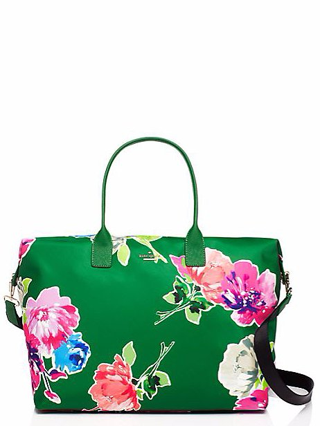 Kate Spade Floral Weekender