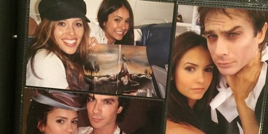 Nina Dobrev Shares Throwback Photos Before Her Final Episode Of 'Vampire Diaries'