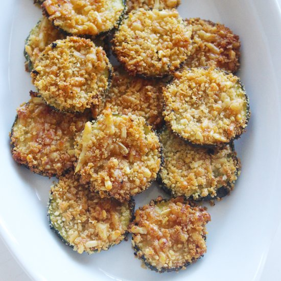 Healthy Zucchini Parmesan Chips Recipe