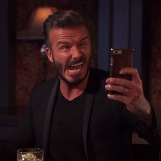 The Impossible Has Happened: David Beckham Has Taken an Ugly Selfie