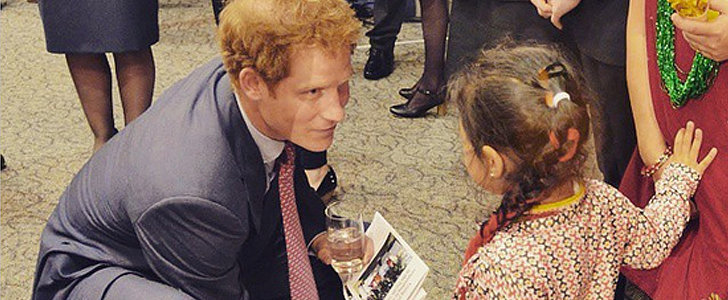 "Prince Harry Had a True Prince Charming Moment With This ""Little Cinderella"""