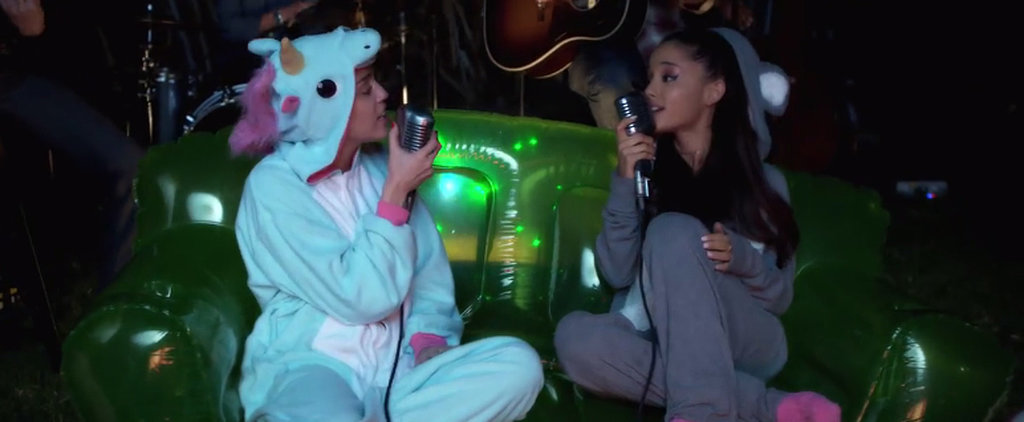 "Miley Cyrus and Ariana Grande Covered ""Don't Dream It's Over"""