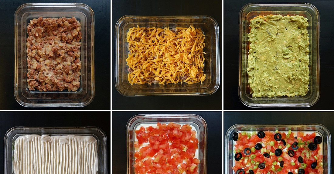 The Classic: 7-Layer Dip | 12 Classic Dips Plus Intriguing ...
