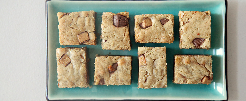 Reese's Peanut Butter Cup Blondies. Enough Said.