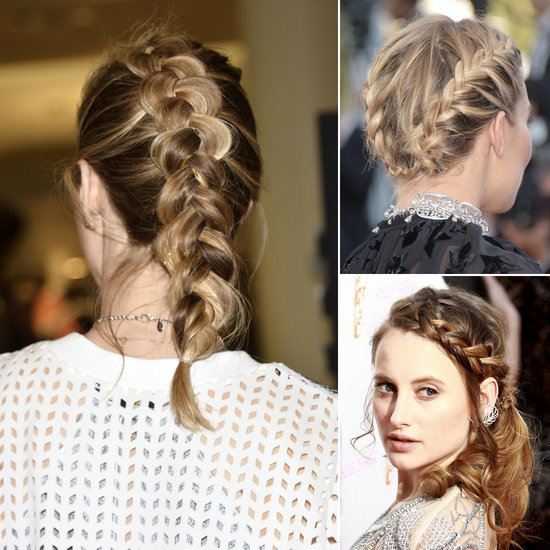 Celebrities With Plaited Hair