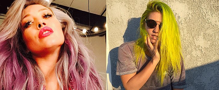 Kesha Is the Latest Celebrity to Rock Rainbow Hair