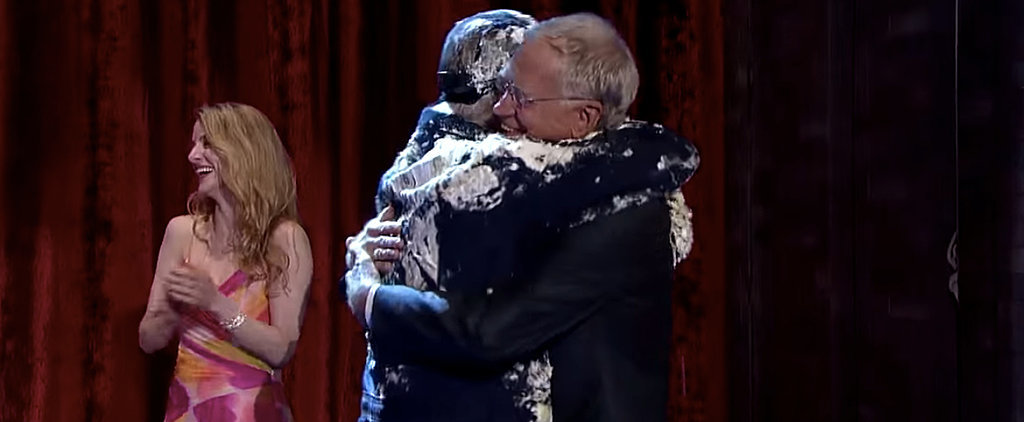 Bill Murray Surprises David Letterman With More Cake Than He Can Handle