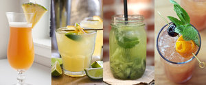 Enjoy Summer Vacation in a Glass With These Tropical Drinks