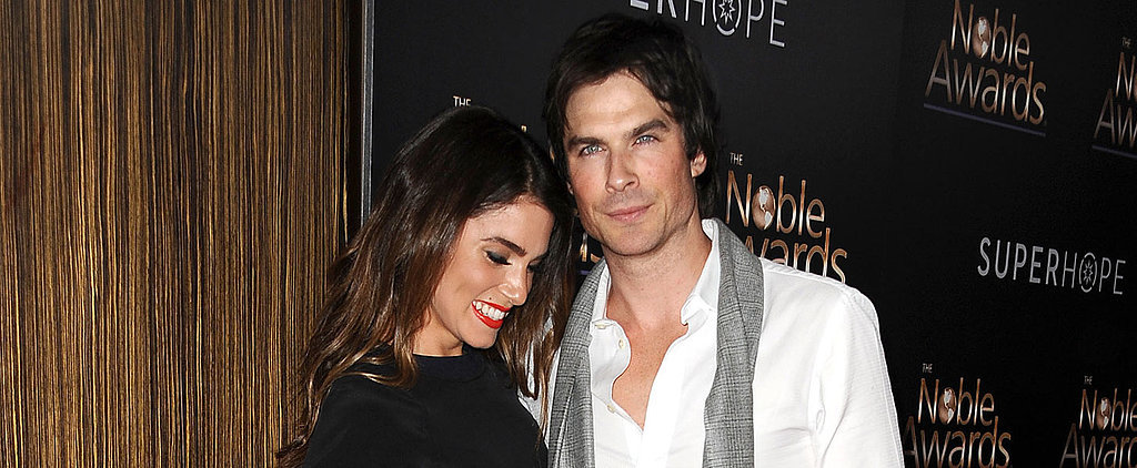 "Ian Somerhalder Wishes Nikki Reed a Happy Birthday: ""Me and the World Celebrate You"""