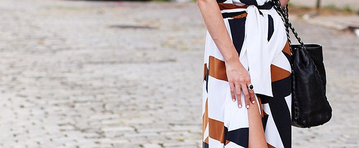 16 Different Ways to Get Leggy in a Slitted Skirt