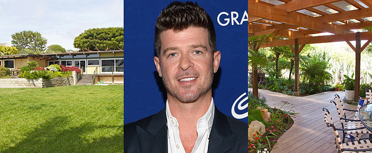 Robin Thicke's $2.4M Malibu Home Is Not What We Were Expecting