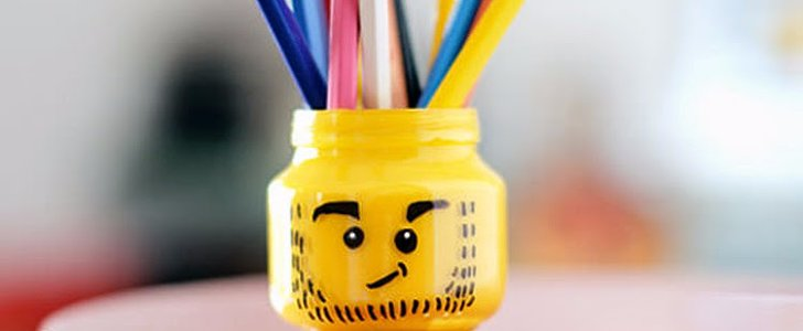 This DIY Lego Pencil Holder Is Your New Favorite Desk Accessory