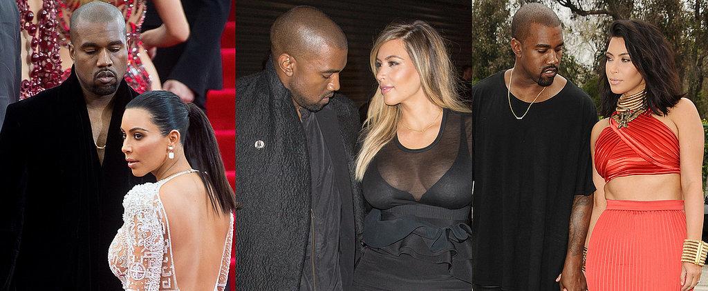 26 Times Kanye West Only Had Eyes For Kim Kardashian