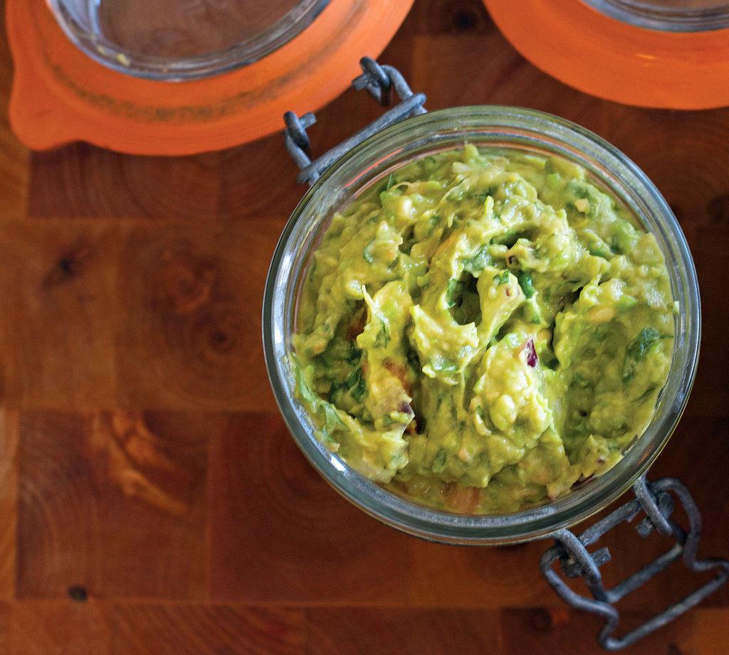 Lower-Fat Guacamole