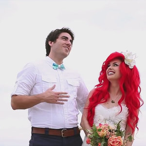 Hipster Little Mermaid Wedding Video