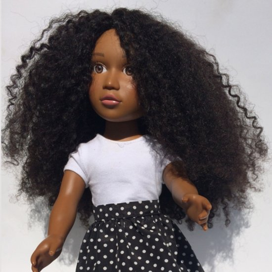 A Doll With Afro Hair You Can Actually Twist Out and Curl